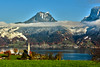 Swiss train experience : The Thunersee & the Kirche St. Columban , 5.11.17, 13:35:43. Image taken from the train Izakigur No. 1027. (Izakigur) Tags: switzerland berneroberland bern nikkor2470f28 nikond810 luz lumière light licht ضوء אור प्रकाश ライト lux światło свет ışık nikon autumn automn trees tree garden fall herbst automne autunno outono 秋 पतझड़ خريف پاییز סתיו svizzera lasuisse lepetitprince thelittleprince ilpiccoloprincipe helvetia liberty izakigur flickr feel europe europa dieschweiz ch musictomyeyes nikkor suiza suisse suisia schweiz suizo swiss سويسرا laventuresuisse myswitzerland landscape alps alpes alpen schwyz suïssa