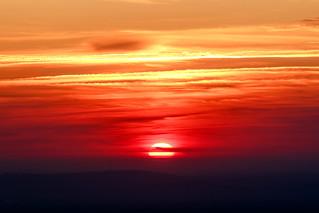 Sunrise over Virginia