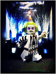 Nice F'ing Model (LegoKlyph) Tags: lego custom movie beatlejuice horror white house christmas scary brick lock minifigure art dark goth cartoon ghost