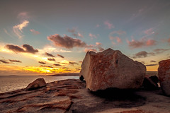 My last night on KI (dmunro100) Tags: kangarooisland southaustralia remarkablerocks sunset dusk goldenhour spring flinderschasenationalpark granite boulders rocks erosion