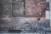 Blendning in (Reckless Times) Tags: urban brick bike brickwork outdoors bycycle cycle blending cold oxford nikon d750 racer roadbike road