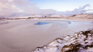 Frozen Tarn on Red Screes (Explored...)