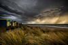 The wall (longbeach-clouds) Tags: chelseabeach chelsea cloud clouds coast storm sky sunset sunrays rain rainy beachbox beachboxes beach
