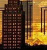 DSC 5055 Golden house (Charli 49) Tags: gebäude casino hotel canada usa niagara falls sonnenuntergang brennendes haus burning house golden
