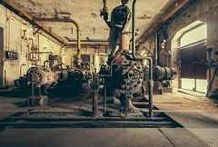 Italian Industry (Camera_Shy.) Tags: derelict disused old machinery abandoned italia hydroelectric idrolettrica power decayed urban exploration decay abandonado industrial building ue nikon d810