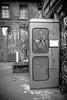 Teledisko (Nic Ky) Tags: telefonzelle teledisko raw rawgelände revalerstr revaler party berlin szene urban disko tanzen nacht industrial graffiti schwarz weis farblos musik friedrichshain partytouristen touristen