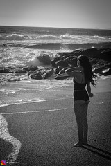 IMG_7406 (Photo_hector) Tags: playa mujer chica pelirroja sol atardecer blanco y negro piel canela sesion photohector photo