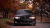 black on autumn IV (kenrem) Tags: 1series 128i 2011 30li6 30liter 6speed amber asphalt autumn bmw bmw1series bmw128i bmw128icoupe bavarianmotorworks black canon canon100mm canon5d canon5dmarkiv canon70200mm crimson fall foliage gold jetblack leaves november orange road tarmac valleyforge valleyforgenationalpark coupe inlinesix car tree trees