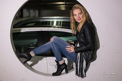 Kim 4 (M van Oosterhout) Tags: model photoshoot fotoshoot parking parkeergarage garage modeling posing female girl woman modelphotography style sexy