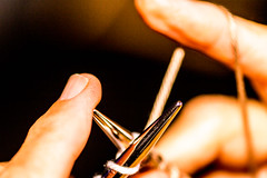 Knitting Fingers (Mi Bob) Tags: macromondays fingertips