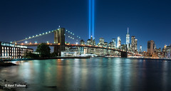Tribute in light (xavi talleda) Tags: brooklynbridge dumbo eua estadosunidos estatsunits newyork newyorkcity novayork nuevayork usa unitedstates us