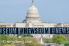 Sign for Newseum in front of United States Capitol Building in Washington DC (Remsberg Photos) Tags: dc capitol government congress senate architecture unitedstatescapitol capitolbuilding federal legislative usgovernment poltics newseum sign washington maryland usa