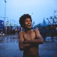 Karthi_Kasimedu_fisherMan (Sudharsan Ravikumar) Tags: cwc chennai weekend clickers portrait speedlite canon ngc 121clicks 500px sigma 35mm