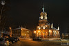 At the Catholic Church of the Blessed Virgin Mary at Winter Night (Guide, driver and photographer in Moscow, Russia) Tags: cathedrals catholicchurches neogothic nightcity russia vladimir vladimirbynight architecture churches ru