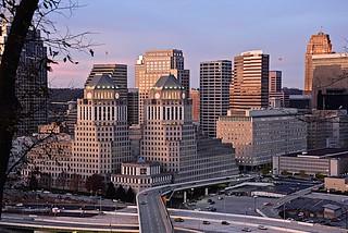 Sunrise on Cincinnati