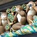 Three wise monkeys, The original, Tosho-gu shrine, Nikko, Japan
