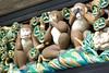Three wise monkeys, The original, Tosho-gu shrine, Nikko, Japan (Dimitry B) Tags: japan asia nikko nara three wise monkeys sculpture carving mizaru mikazaru mazaru period colours toshogo evil gate macaque door portal woodcut emoji tokugawa ieyasu shogunate