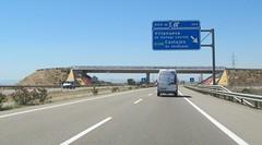 A-23-84 (European Roads) Tags: a23 huesca zuera zaragoza españa aragón spain autovía
