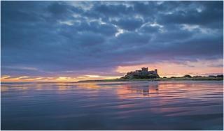 Dawn at Bamburgh Castle