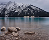 Show your face.... (Anotherstateofmind) Tags: banffnationalpark banff lake lakeminnewanka water albertamountains rockymountains mountains longexposure canada lakelouise lakemoraine canmore parkscanada
