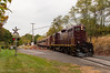 Reeder Road (Dan A. Davis) Tags: newhopeivyland nhi railroad locomotive train newhope lahaska buckingham buckscounty passengertrain tourist gp9u fall foliage