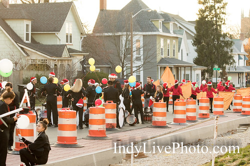 2017 Lafayette Indiana December Christmas Parade and Environs