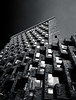 Arquitectura  1 (Pablouno) Tags: architecture arquitectura bw blancoynegro bulding edificio shadows light contrast city sky windows blackandwhite monochromatic