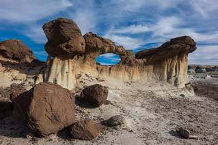 Bisti Wilderness, Chocolate Arch, New Mexico