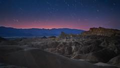 Zabrieskie Point Death Valley at night (swissukue) Tags: zabrieskie deathvalley sonya7ii usa california stars night nationalpark