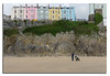 People Watching Tenby