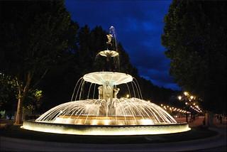Fuente de las Granadas (Granada, Andalucía, España, 7-6-2013)