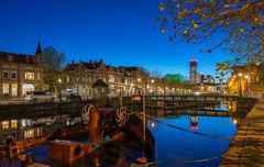 Leeuwarden Emmakade op 6 november 2017