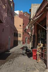 Buying sweets at the corner shop - Bab Debbagh (Hector16) Tags: africa october morocco lavilladesorangers unescoworldheritagesite المَغرِب northafrica مراكش berber marrakech kingdomofmorocco marrakesh marrakeshtensiftelhaouz ma