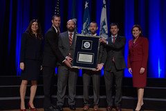 Secretary's Unit Award (DHSgov) Tags: as1 as2 awards clairegrady dar dhsawards departmentofhomelandsecurity elaineduke washingtondc ceremony recognition uscg tsa usss fema ice mgmt leadership leader team achievement operations morale performance missions