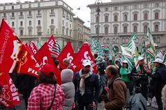 IMGP1321 (i'gore) Tags: firenze cgil cisl uil pensioni presidio sindacato libertà lavoro solidarietà diritti giustizia