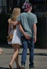 Touché (swong95765) Tags: butt touch couple walk embrace blonde female man woman cute pinknails