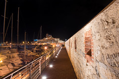Port of Antibes (mahmoudchakrane) Tags: antibes frenchriviera france lights yacht night nikon port
