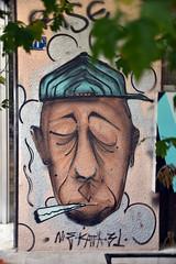 My philosophy... (Pensive glance) Tags: graffiti image painting all mur mural streetart artderue