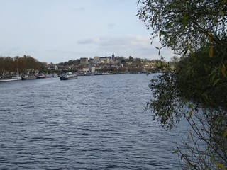 La Seine à Conflans-Sainte-Honorine (78)