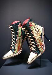 Put on your dancing sneakers! (kimbar/Thanks for 3 million views!) Tags: kiowa shoes stevemaddenshoes beaded internationalfolkartmuseum santafe newmexico teri greeves art terigreeves