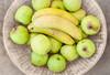 Green (Daniela 59) Tags: flickrfriday gogreen apples goldendelicious bananas basket textures sliderssunday hss fruit food danielaruppel