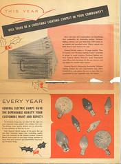 GE 1959 sales flyer p7 (JeffCarter629) Tags: generalelectricchristmas gechristmaslights gechristmas ge generalelectric generalelectricchristmaslights christmas christmaslights c6 c9 c7 1959