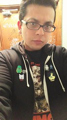 Attempt to selife. Wearing my new Possession pin by @mouth_of_madness_shop #horrorpins #thecreaturefromtheblacklagoon #mouthofmadness #possession1981 #death #praiseseitan #dracula #everydayishalloween #zombi #tokyojesus #berkeley #megaman (Always Wrong Film) Tags: possession1981 dracula tokyojesus thecreaturefromtheblacklagoon megaman mouthofmadness everydayishalloween horrorpins zombi praiseseitan berkeley death