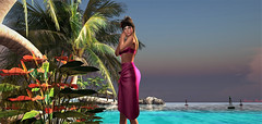 South Pacific (trinana.peach) Tags: blog blogger blogs beauty beach beautifulplaces designer designersshowcaseevent event fashion fashionista fashioninpixel female femaleclothing girl glamorous lovely locations lumipro model modeling mesh new nails outside outfit pretty people pose secondlife sl style sexy sky trinanapeach trinana virtualgirl virtual windlight woman womensfashion water prism