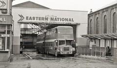 NBC in Wood Green (Lost-Albion) Tags: easternnational nbc bristolflf 2929 avw358f woodgreen pentax 1979
