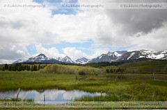Glacier National Park (ficktionphotography) Tags: glaciernationalpark mountains landscapes nature water clouds grasslands montana roadtrip2013 roadtrip