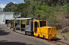 Newington railway (highplains68) Tags: aus australia nsw newsouthwales newington narrow gauge railway tourist train armory armoury naval munitions store sydney olympic park