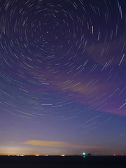 Ideally (Robyn Hooz) Tags: ideally polar pole polo stella cerchi night notte stars circles sottomarina veneto blu cielo diga dam