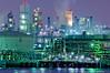 川崎港工場夜景 (daidai3214) Tags: 神奈川県 川崎市 扇島東公園 扇島 京浜運河 京浜工業地帯 工場 工場夜景 夜景 工場風景 pentax sigma k3ii apo150500mmf563dgoshsm 日本 japan night
