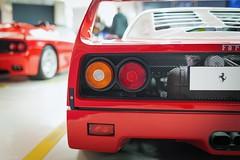 F40 (tamson66) Tags: ferrari f40 sportcar maranello stilllife detail museo youngtimer